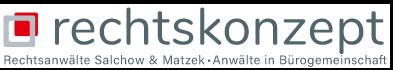 rechtsanwälte Salchow & Matzek